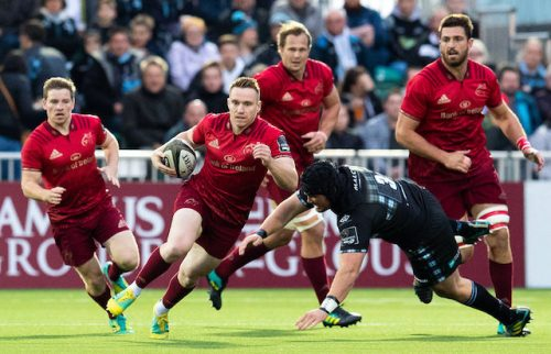 Munster Leinster suffer first defeats