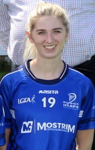 Dulwich Harps Siobhan McCann facing toughest opponent