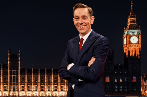 London Ryan Tubridy Irish audience late late show