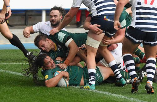 Irish up to second with twelve try rout of Yorkshire