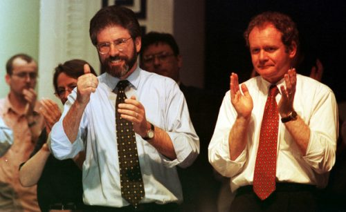 good friday agreement gerry adams martin mcguinness
