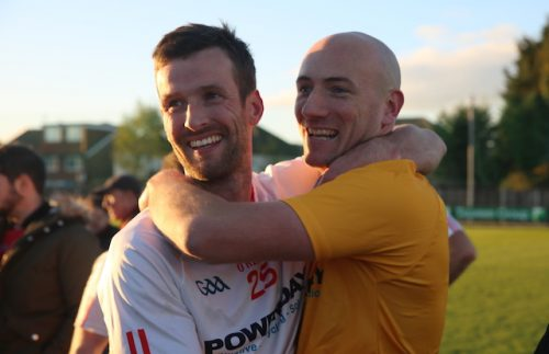 Shaun Burke and Gavin McEvoy