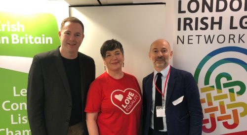 lgbt conference irish in britain