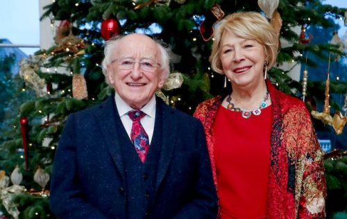 A Christmas message from the President of Ireland
