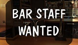 Bar staff required – Full & Part time