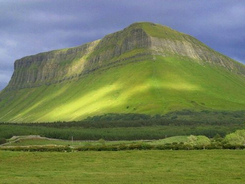 Ben Bulben and the Ox Mountains