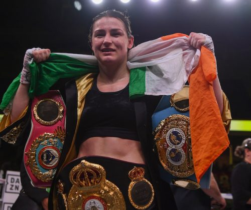 Katie Taylor targets June unification fight