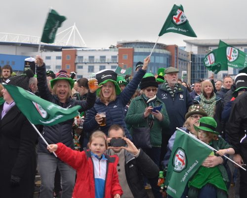Irish out to keep the St Patricks Party going says Macken