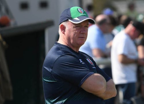 Keeping London Irish in the Premiership is Declan Kidneys next challenge