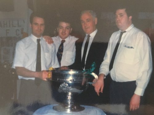 O'Rahillys GAA club pays its respects to Benny McGovern