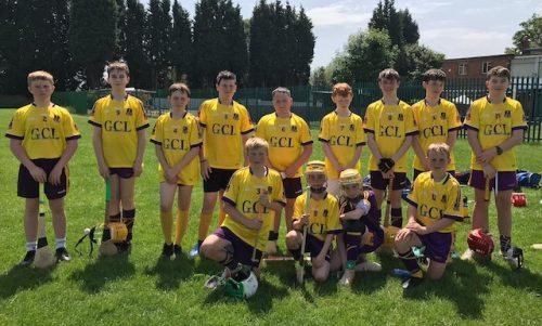 Londons Under 14 hurlers can follow footballers lead