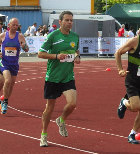 Embracing life and the chance to run for Ireland