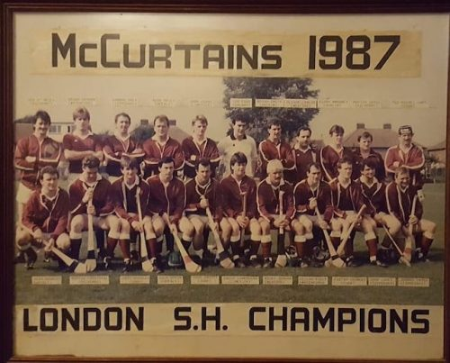 Thomas McCurtains hurlers channelling the spirit of 1987