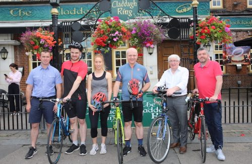 Epic cycle to west of Ireland to fight two killer diseases