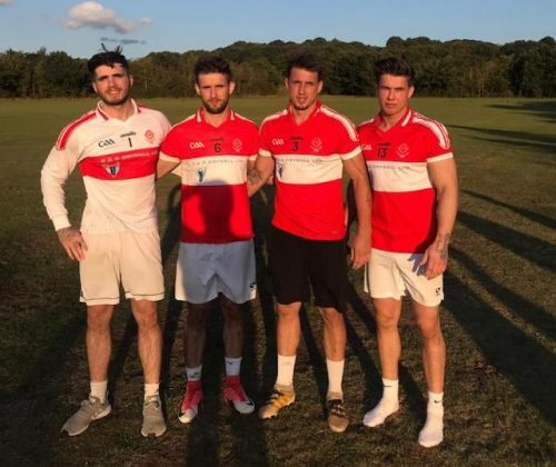 Garryowen GAA player reaches fundraising target in memory his two boys