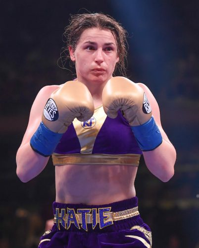 Manchesters growing love affair with Katie Taylor