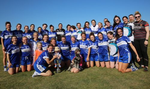 Oisin Ladies ARE going to Europe