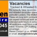 Recruitment: M O'Brien Plant Hire