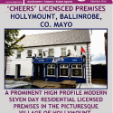 'Cheers' Iicensed premises - Ballinrobe, Co. Mayo