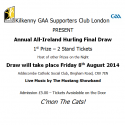Kilkenny GAA Supporters Club London - Annual Draw
