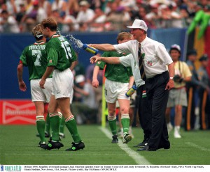 Ireland v Italy in the 1994 World Cup