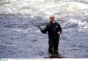 Fishing in Galway