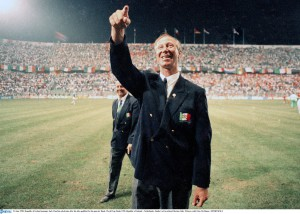 After the Holland game of Italia '90 where Ireland earned a QF place